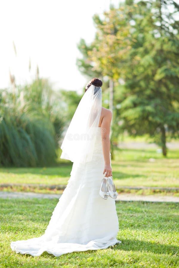 Ślubna panna młoda zdjęcia stock