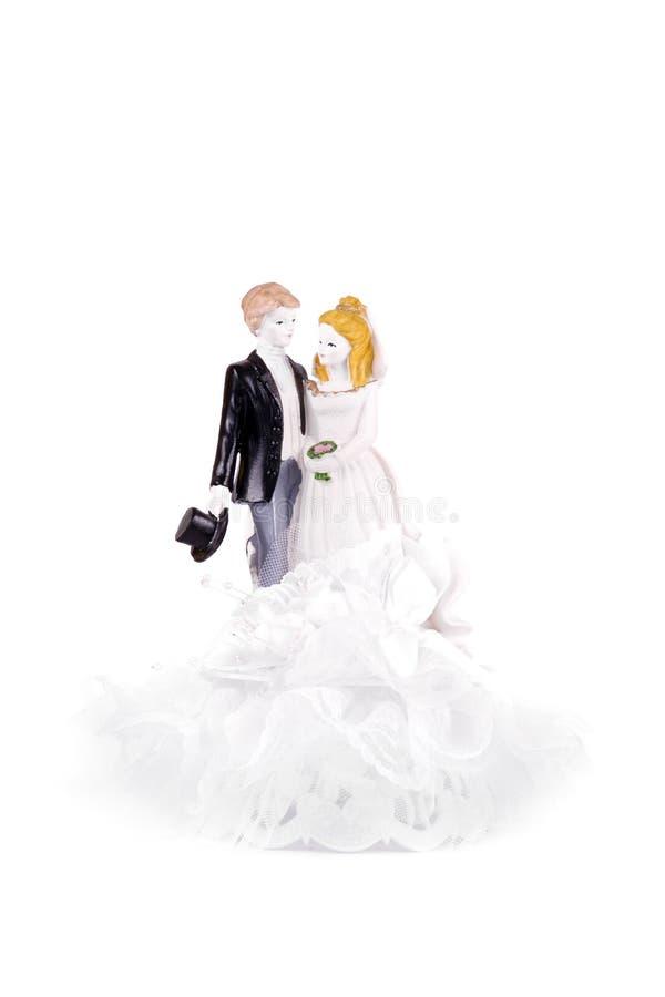 Ślubna postać fotografia stock