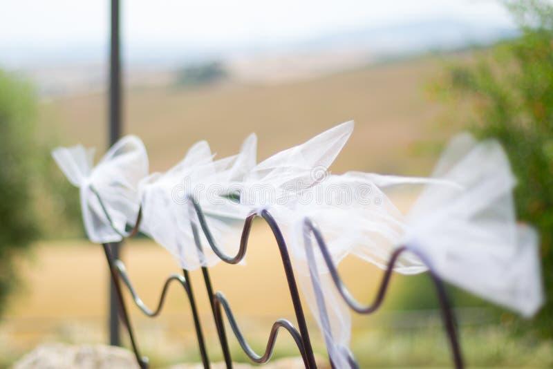 Ślubne dekoracje zdjęcia royalty free
