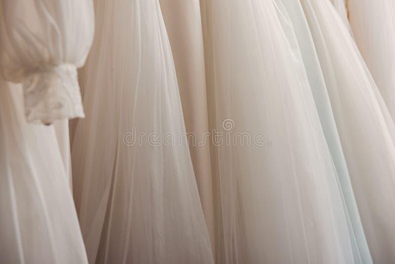 Ślubne suknie obraz royalty free
