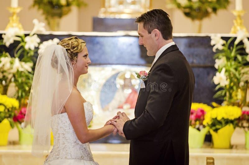 Ślubni ślubowania zdjęcia stock
