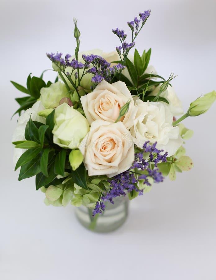Poślubia kwiaty zdjęcie royalty free