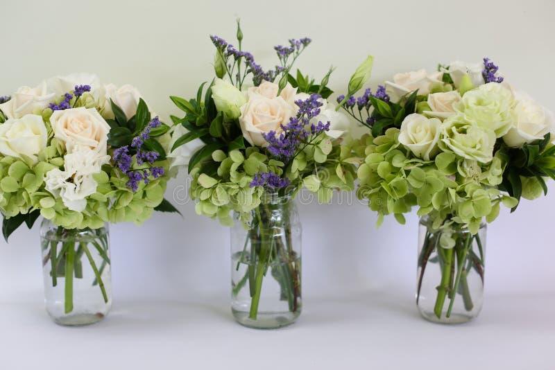 Poślubia kwiaty zdjęcie stock