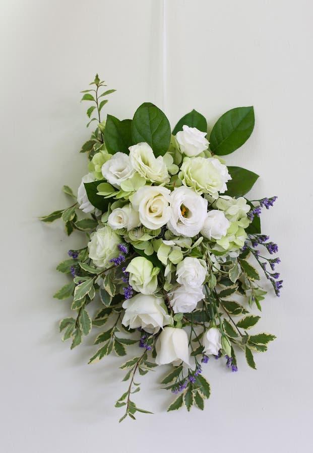 Poślubia kwiaty zdjęcia stock