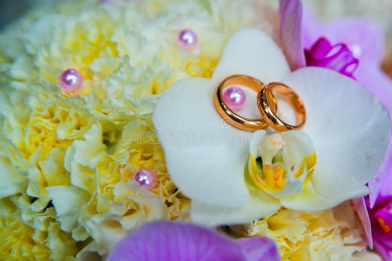 Download Ślubni Pierścionki Zaręczynowi Obraz Stock - Obraz złożonej z para, zobowiązanie: 53784329
