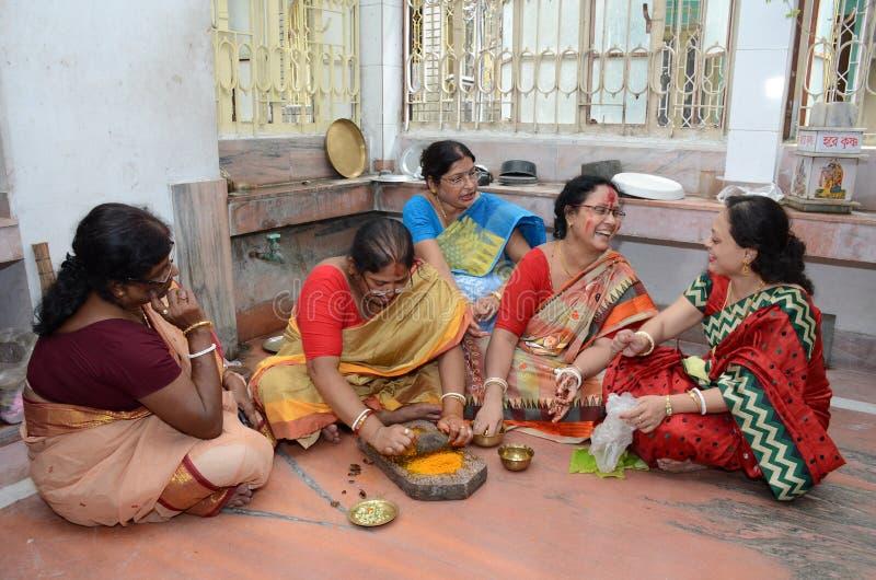 Ślubni rytuały fotografia royalty free