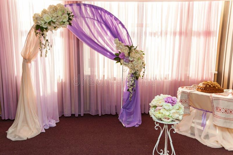 Ślubny łuk obrazy stock
