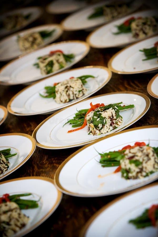 Ślubny jedzenie obraz stock