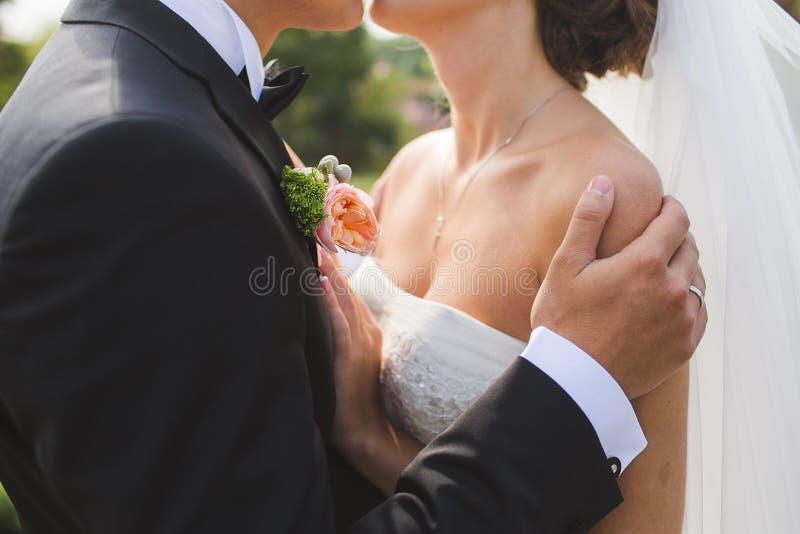 Ślubny kochający cpouple małżeństwo zdjęcie stock