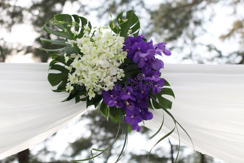 Ślubny miejsce wydarzenia. zdjęcie royalty free