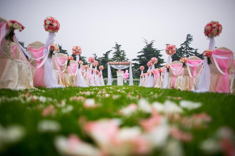 Ślubny miejsce wydarzenia obrazy royalty free