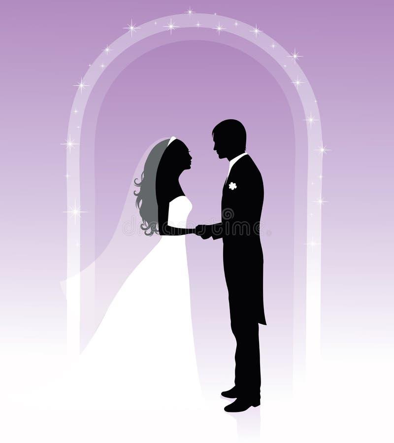 ślubowań target141_1_ royalty ilustracja