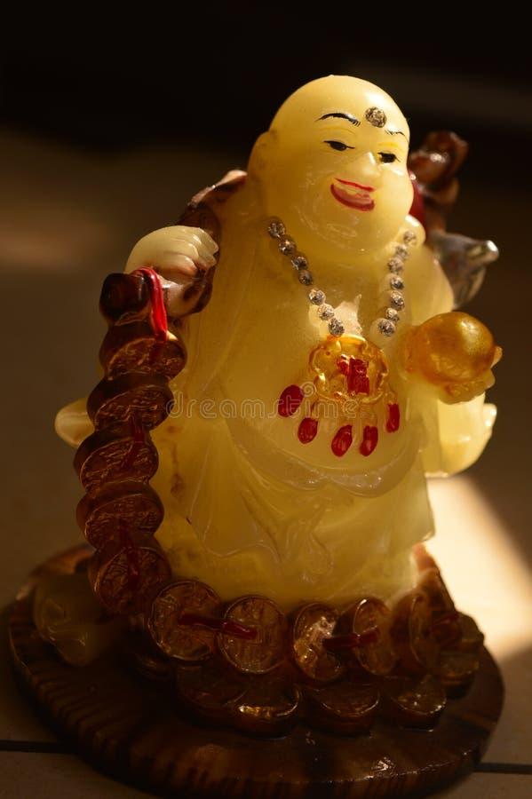 Śmiać się Buddha z uśmiechem obraz stock