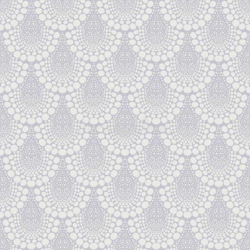 Śmiały geometryczny wzór w art deco stylu royalty ilustracja