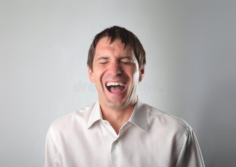 śmiech obraz stock