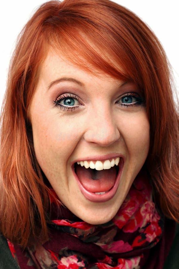Śmiech i krzyk zdjęcie royalty free