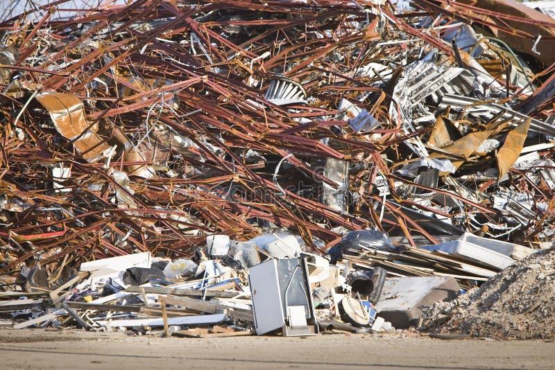 śmieciarska dżonka zdjęcie royalty free