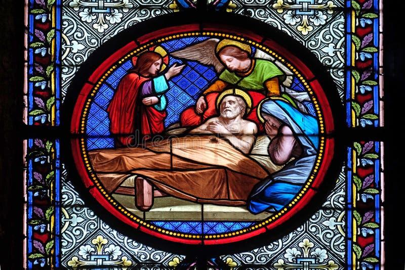 Śmierć święty Joseph zdjęcie stock