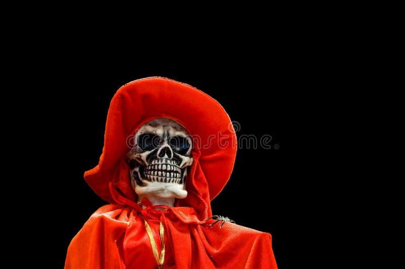śmierć 2 odseparowana czerwony zdjęcia stock