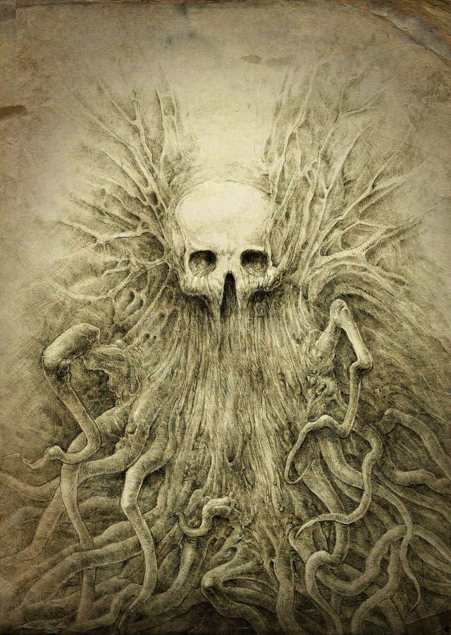 Śmierć ilustracji