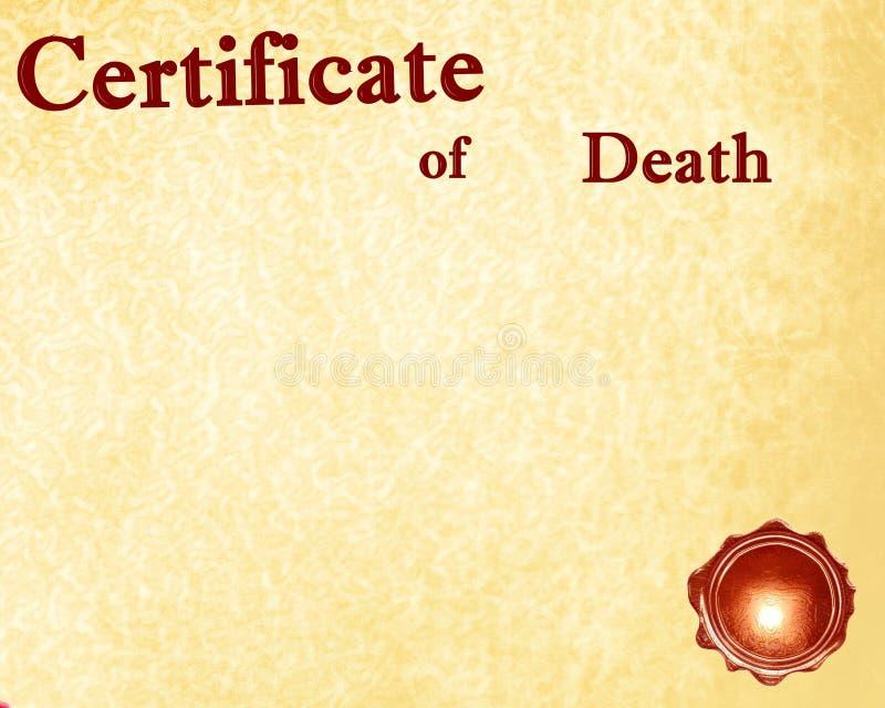 Śmierć ilustracja wektor