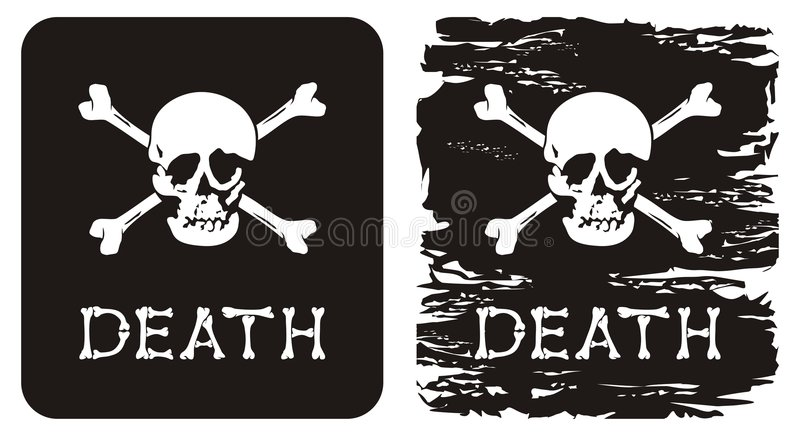 śmierć royalty ilustracja