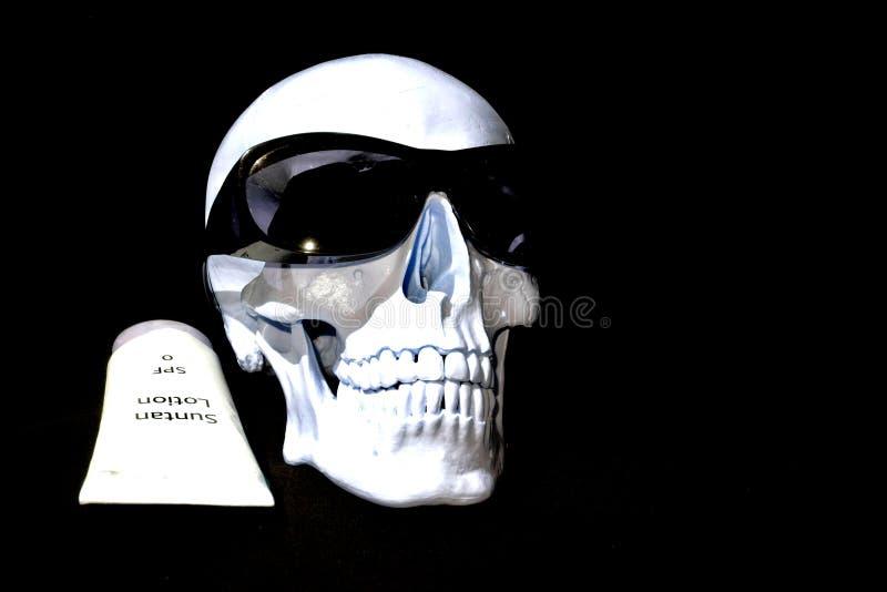 Śmierć od Suntanning zdjęcie royalty free