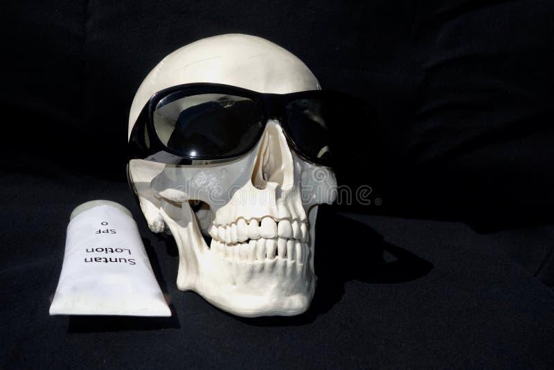 Śmierć od Suntanning fotografia stock