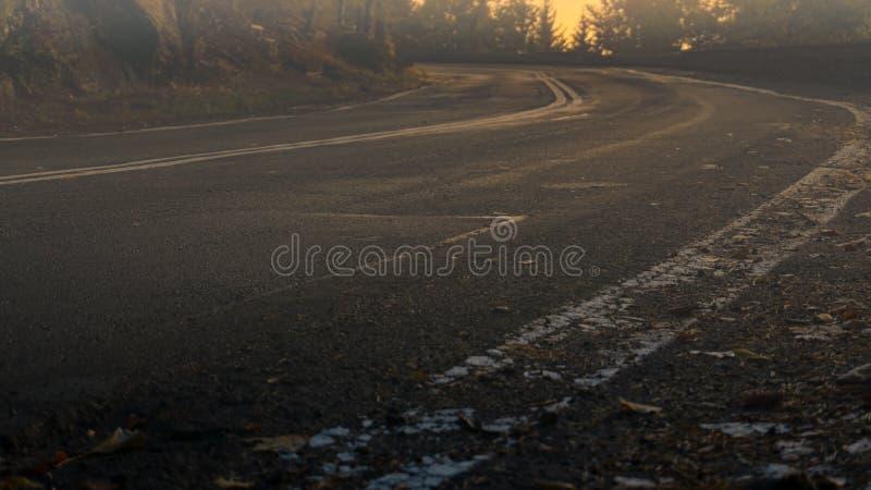 Śmierć zapadła o świcie, Karkonosze, Polska zdjęcie royalty free