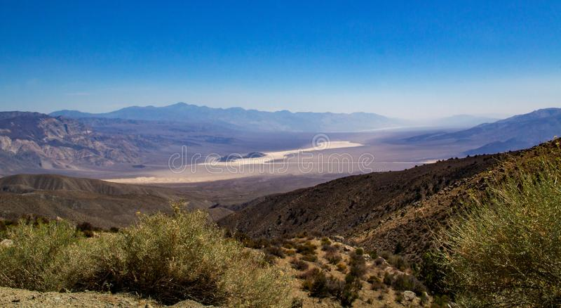 śmierci krajobrazowa park narodowy dolina zdjęcie stock