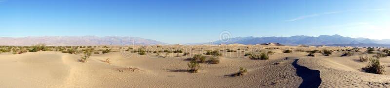 Śmiertelna doliny pustynia zdjęcie royalty free