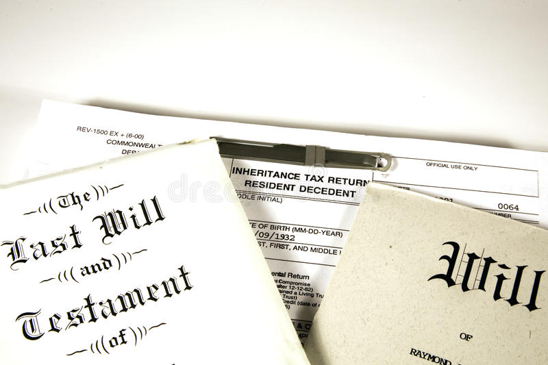 śmiertelni podatki obraz royalty free