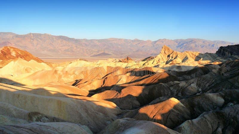 Śmiertelny dolina krajobraz zdjęcie stock