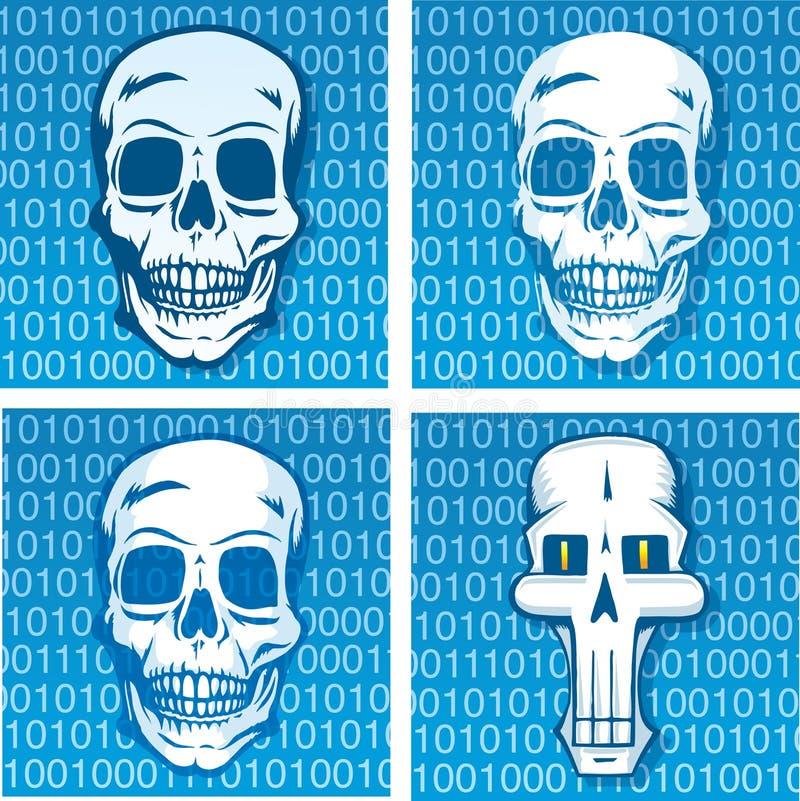 Śmiertelny kod ilustracji