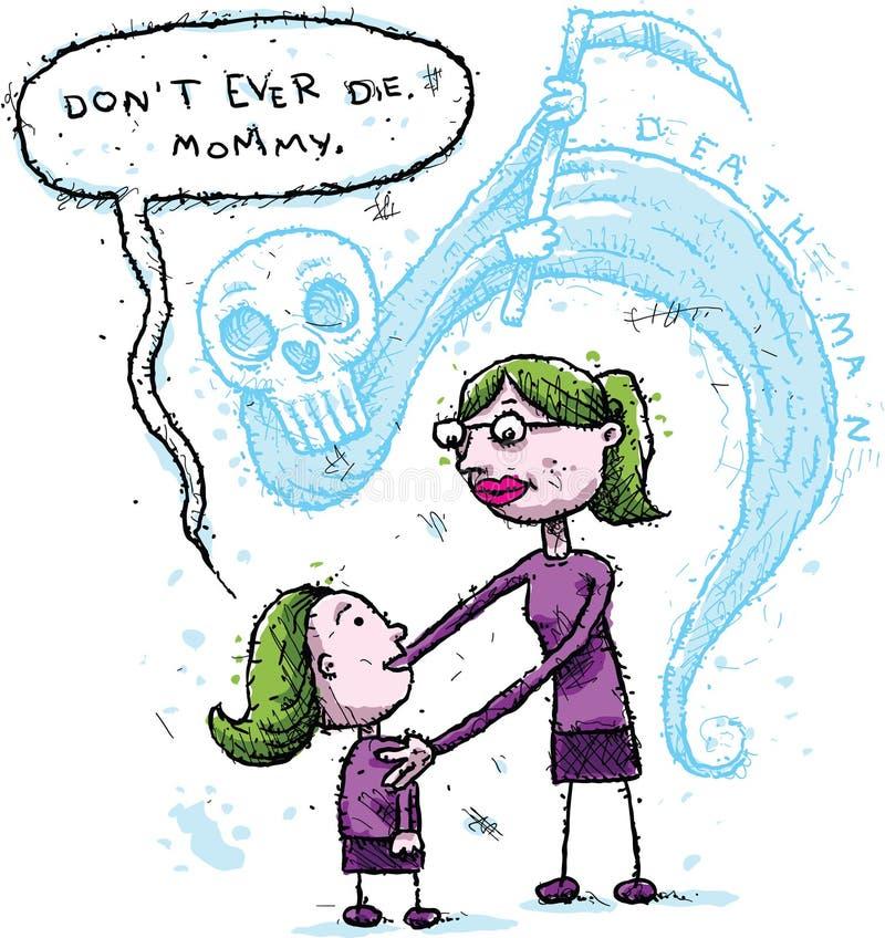Śmiertelny strach ilustracji