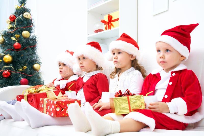śmieszna Boże Narodzenie firma obrazy stock