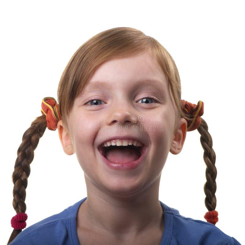 śmieszna dziewczyna obraz stock