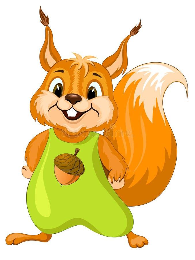 Wiewiórka ilustracja wektor