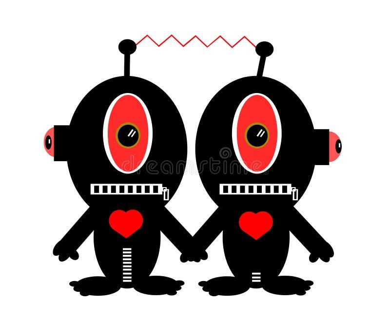 Download Śmieszni Charaktery Trzyma Ręki Ilustracja Wektor - Ilustracja złożonej z arte, potwór: 28966359