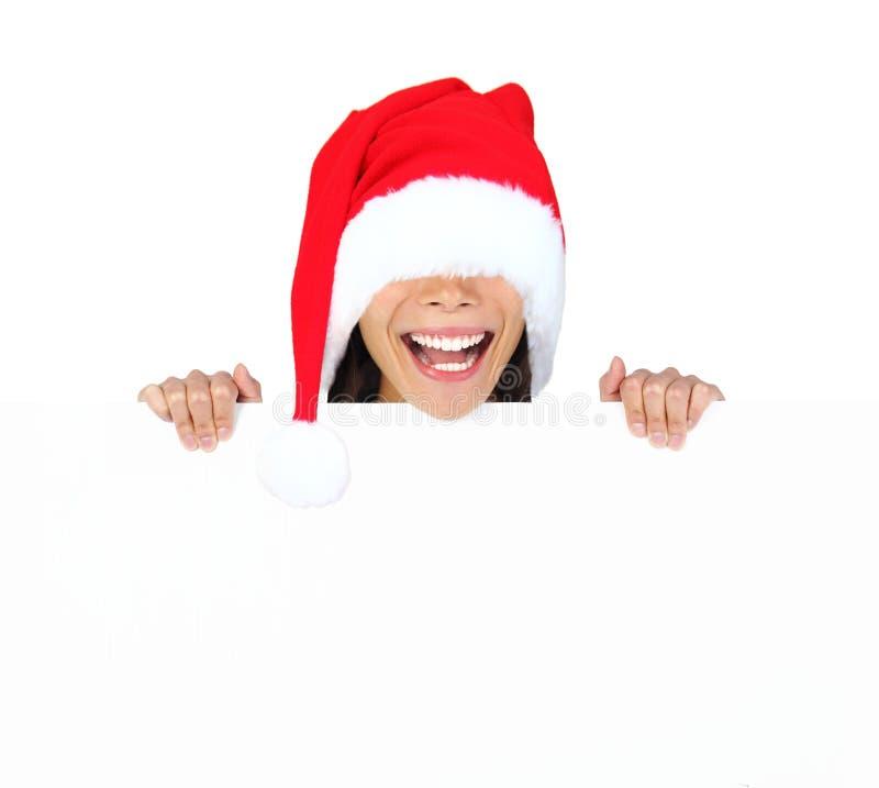śmieszny Boże Narodzenie znak fotografia royalty free