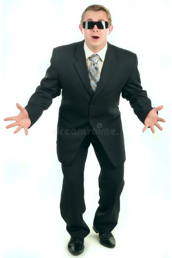 śmieszny człowiek osoby garnitur zdjęcia royalty free