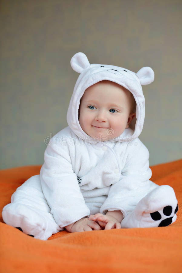 Śmieszny dziecko zdjęcie royalty free