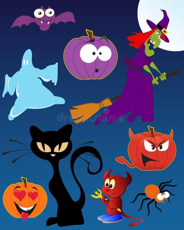 śmieszny Halloween royalty ilustracja
