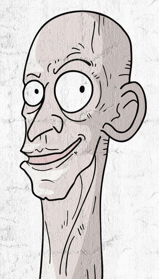 Śmieszny mężczyzna ilustracja wektor