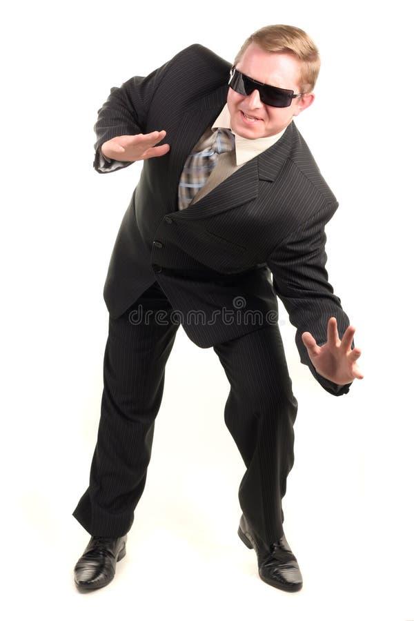 śmieszny mężczyzna osoby kostium obraz stock