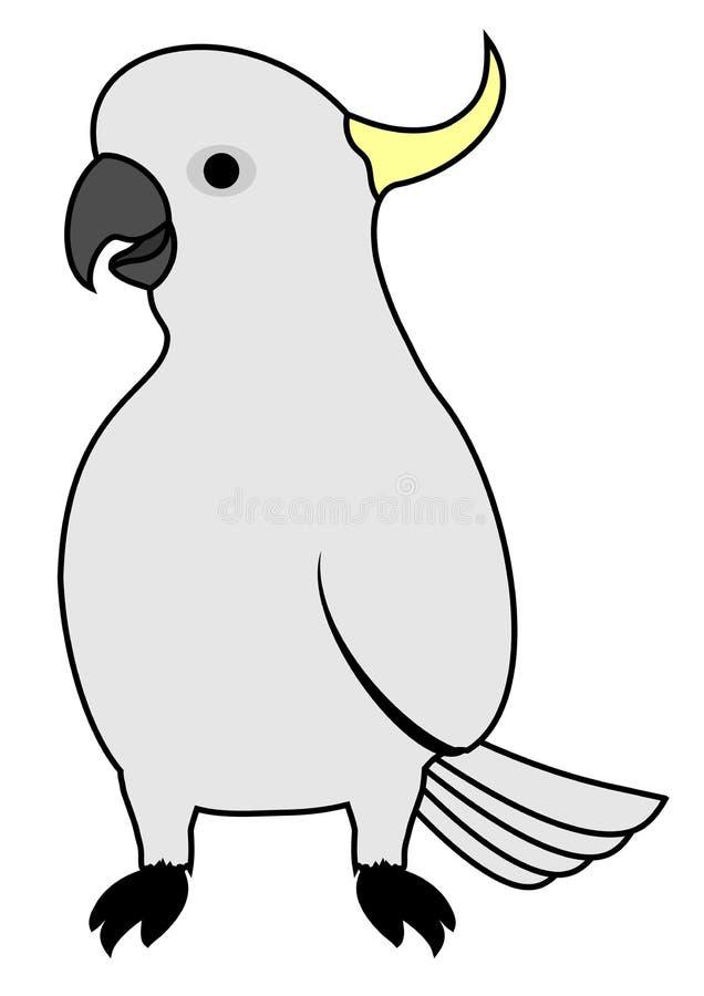 Śmieszny ptak ilustracja wektor
