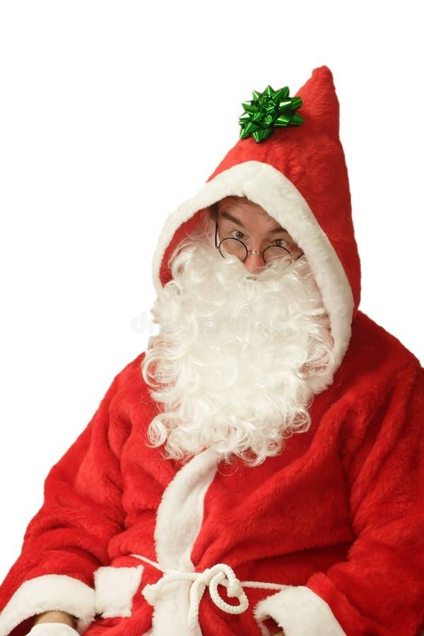 śmieszny Santa zdjęcia stock