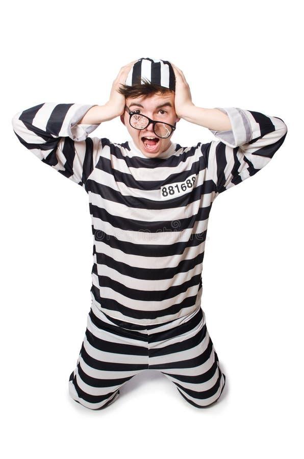 Śmieszny więzienie zdjęcie royalty free