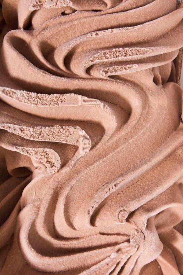 śmietanka czekoladowy lód zdjęcie stock