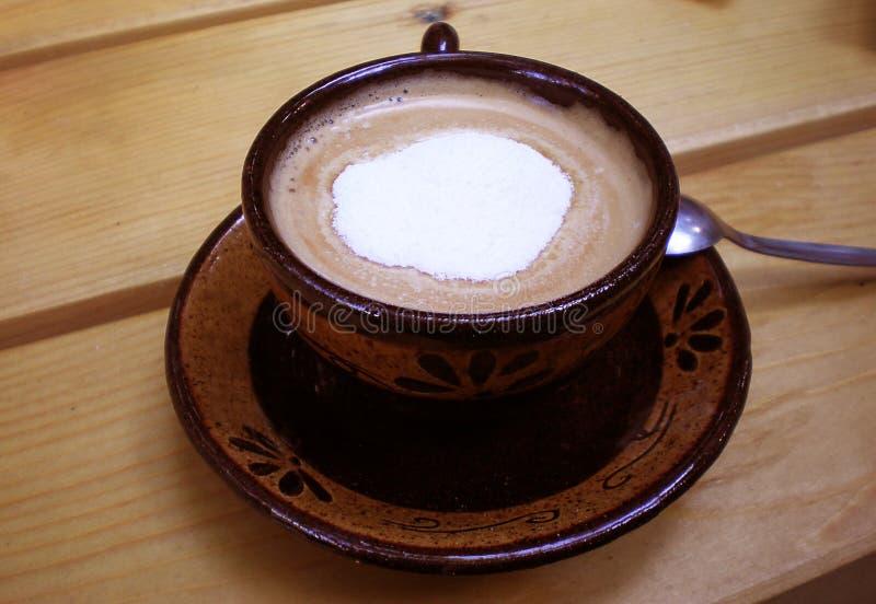 śmietanka kawowa obraz stock